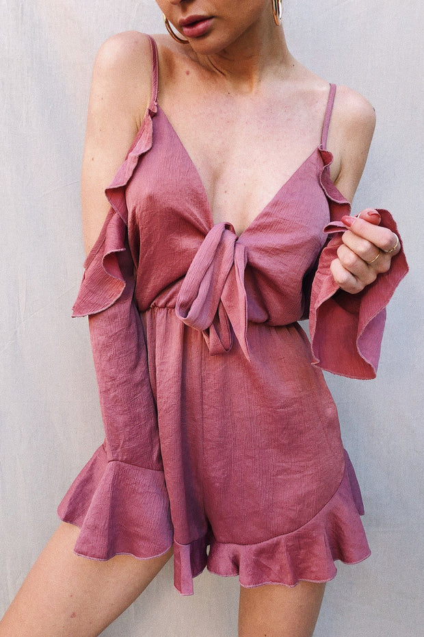 PLAYSUITS - Rose Bloom Playsuit
