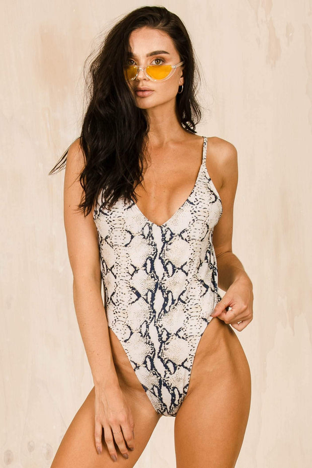 SWIM - The Christy One Piece - Python