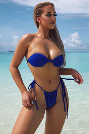 SWIM - The Elle Bikini - Blue (FINAL SALE)