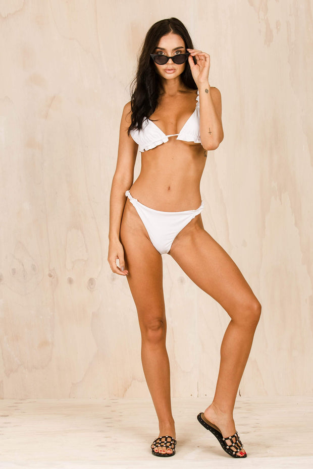 SWIM - The Eva Bikini - White