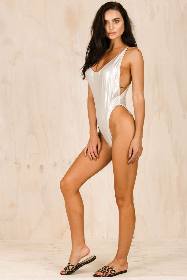 SWIM - The Kendall One Piece - Silver
