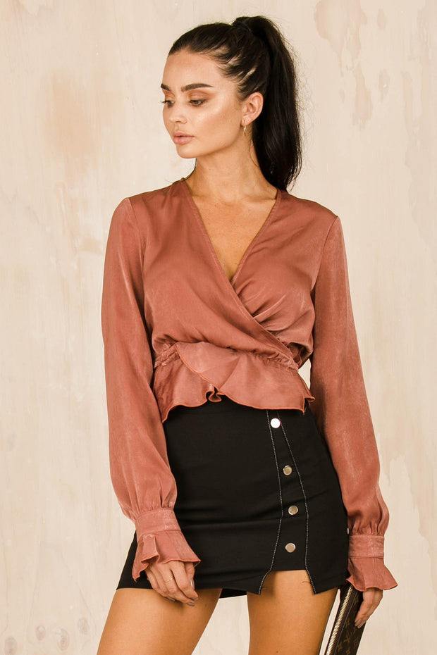 TOPS - Castello Blouse - Blush
