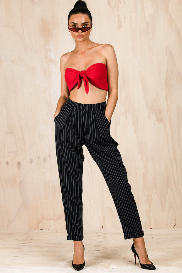 TOPS - Cherry Pie Tie Top