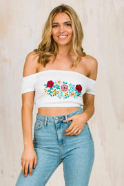 TOPS - Childs Play Off The Shoulder Top (FINAL SALE)