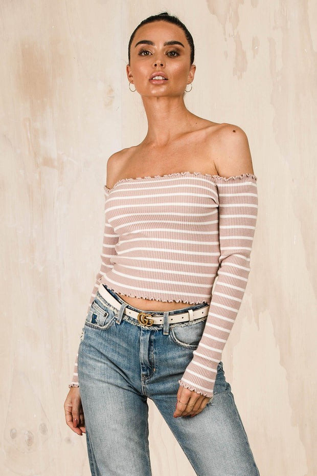 TOPS - Devaney Off Shoulder Top