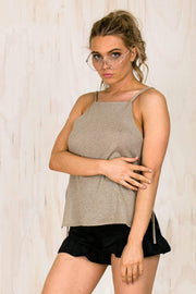TOPS - Gold Sand Top (FINAL SALE)