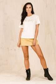 TOPS - Oh Baby Tee - White