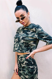TOPS - Riri Camo Crop Top