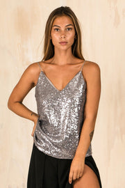 TOPS - Sparkly Nights Cami Top
