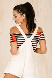 TOPS - Stripes For Life Crop (FINAL SALE)