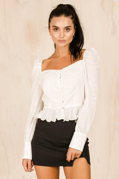 TOPS - Sweethearts Top - Anglaise