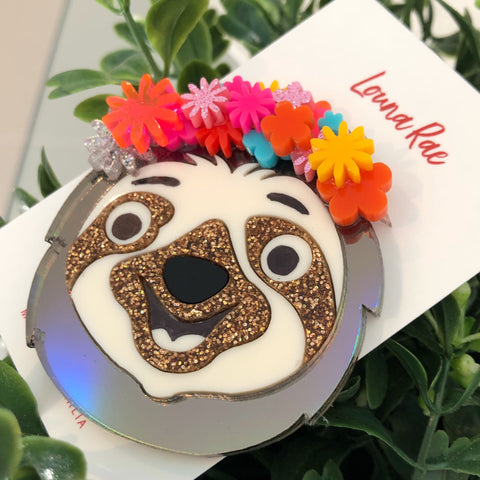 Sloth Brooch