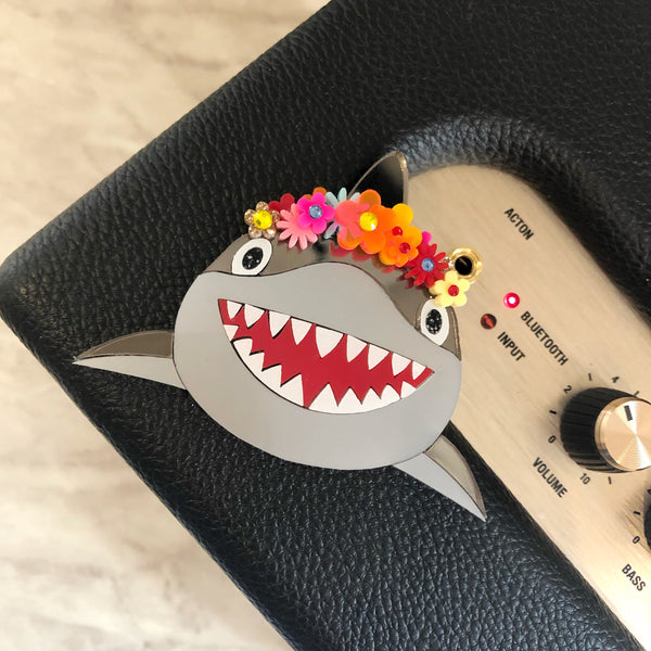 Mommy Shark Brooch