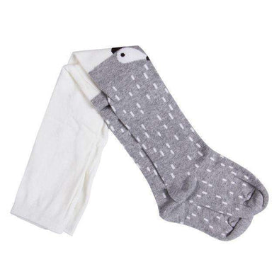 Fox / Racoon Stockings - Grey