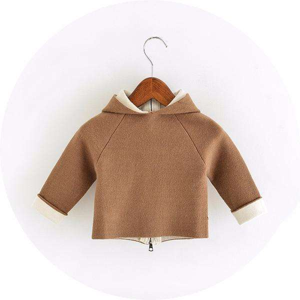 Knitted Fawn Sweater