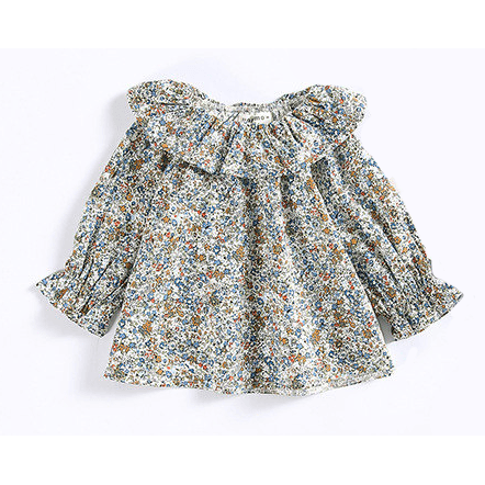 'Liberty' Blouse - Blue