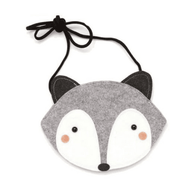 Racoon / Fox Bag - Grey