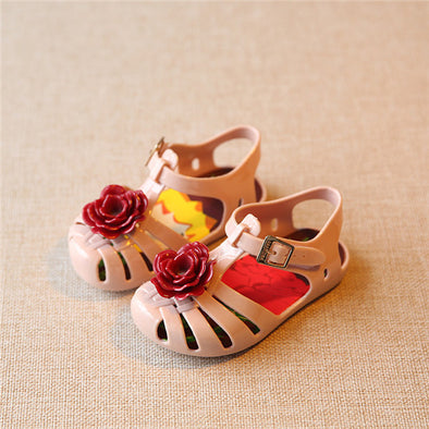 Jelly Shoes - Flowers