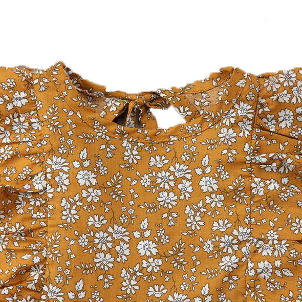 Vintage Dress - Yellow Floral | NEW
