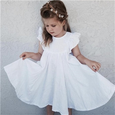 Alix Dress -  White