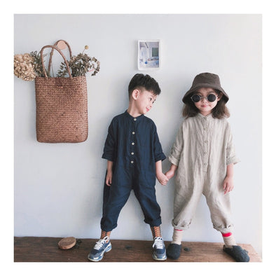 Unisex linen jumpsuit | NEW