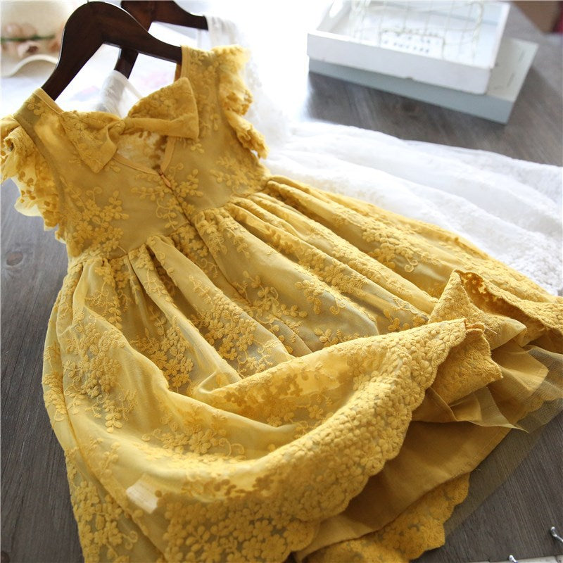 Louise Dress  - Yellow | NEW