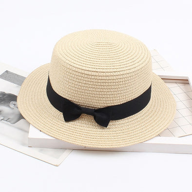 Sun Hat with Ribbon | NEW