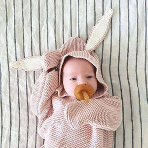 Knitted 'Rabbit' Sleeping Bag