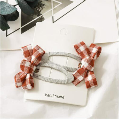 Vichy Hair Clip - Red | NEW
