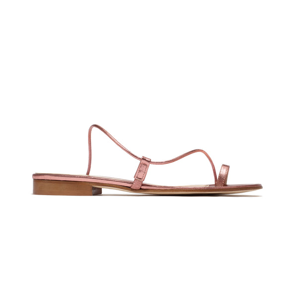 Susan Slide in Rose Metallic