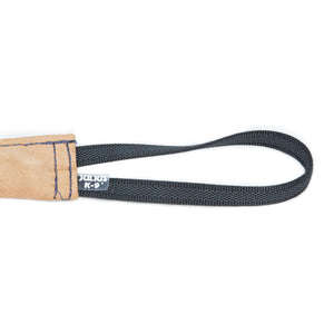 Julius K9 Leather Tug - 8x1.2 inch - 1 handle