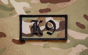 K9 Dog Handler Patch