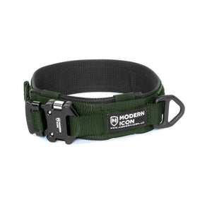 "Modern Icon 2"" Rigid Collar - OD Green"