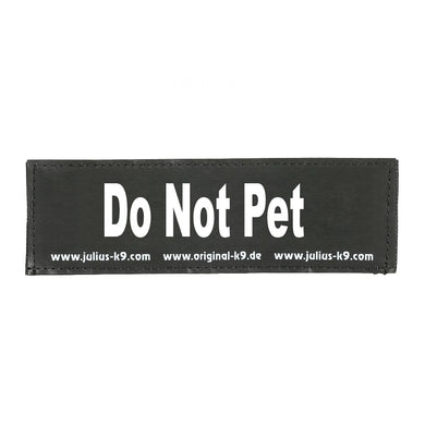 Julius K9 Do Not Pet patch
