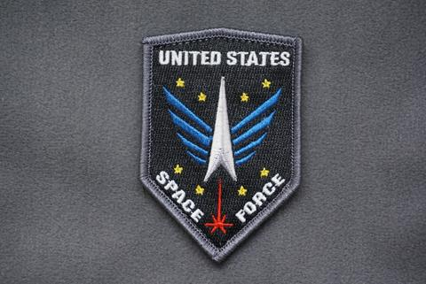 US SPACE FORCE EMBLEM MORALE Patch