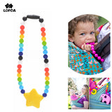 Baby Carrier Teething Accessory Pacifier Chain Safe Teething Toy Baby Teether Not Necklace