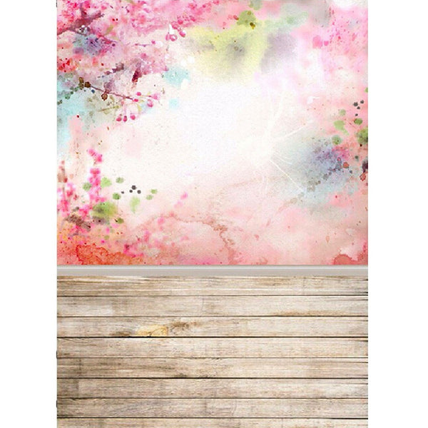 Girls Pink Flower Blossom Wall Backdrop- 1.5 x 2.1m