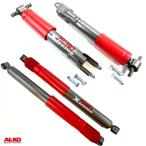 11-14 Chevrolet 2500 3500 Full set 4 AL-KO OE Replacement HD Performance Shocks