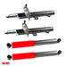 Full Set 4 Taxi Grade Performance Shocks Struts for 10-13 Ford Transit Connect
