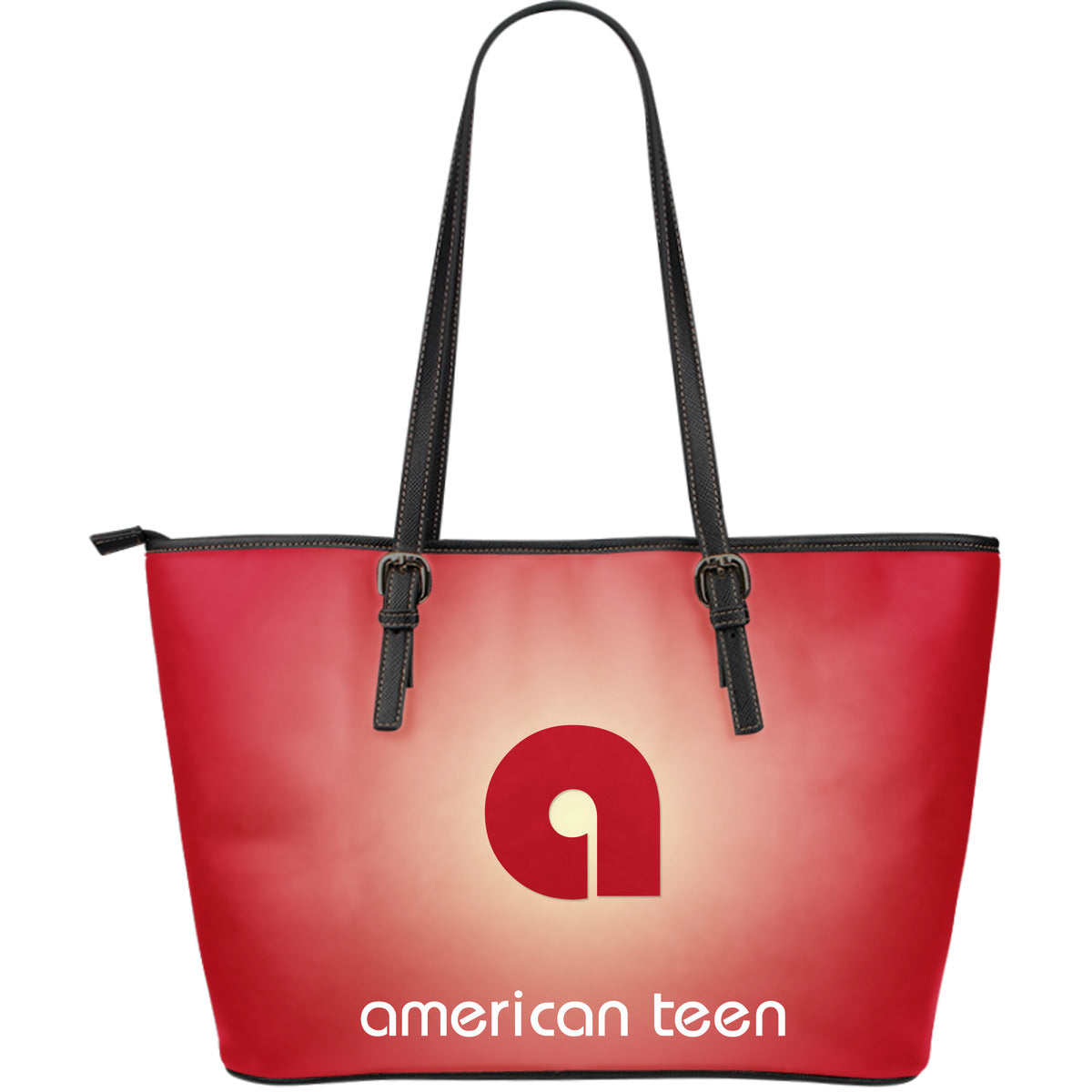 Large Leather Tote Bag by American Teen