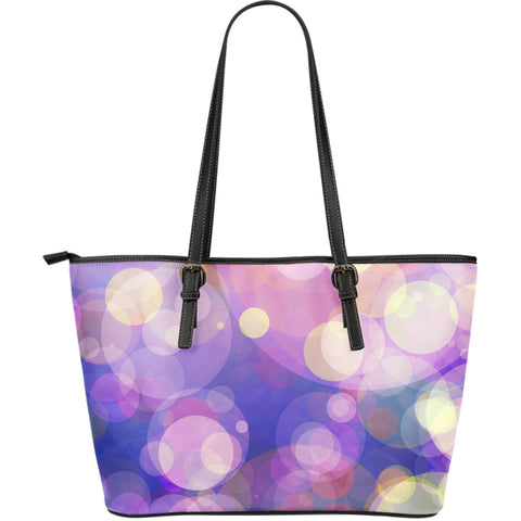 Large Leather Tote Bag |  Yulin - Design by American Teen