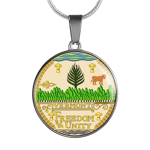 Vermont Pendant Necklace Set | Handmade in USA | By American Teen | Unique Gift And Souvenir