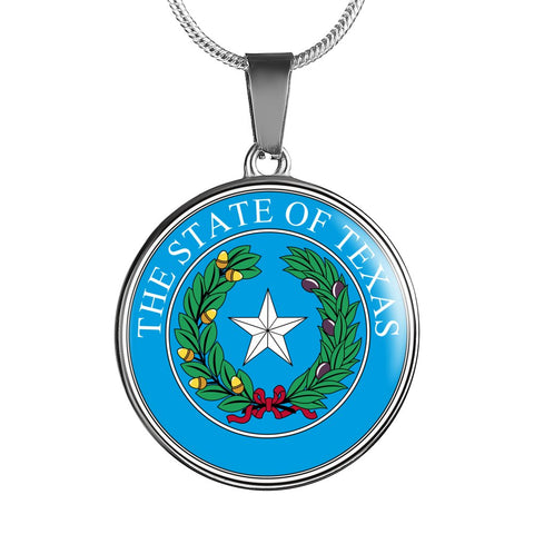 Texas Pendant Necklace Set | Handmade in USA By American Teen | Unique Gift And Souvenir