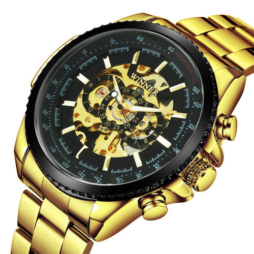 Best Brand Men Watches For Sale Auto Mechanical WINNER Watch Gift For Men Montre Certus Homme
