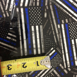 Large Thin Blue Line Police Flags - Exclusive