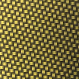 Candied Dark Yellow Gold Carbon Weave