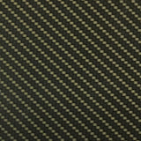 Electric Gold Carbon Fiber Weave