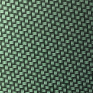 Candied Dark Green Carbon Weave