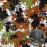 Camo Paint Splatter Digital