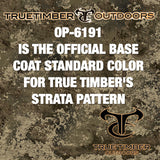 Dip Bite True Timber STRATA Base coat Hydrographic Paint